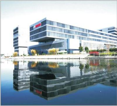 Bosch Shanghai Research Center Place: Shanghai Area :27000m² Panel Type:OA PANEL